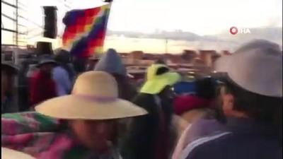 devlet baskanligi -  - Bolivya'da ölü sayısı 30'a yükseldi
