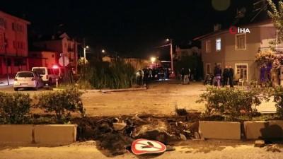 Fethiye'de otomobil dereye uçtu: 1 ölü