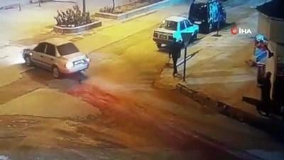 Kadının çantasını çalan yabancı uyruklu gaspçı yakalandı