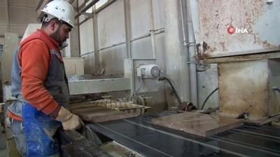 Sivas'a özgü mermer ve travertenler 4 kıtada 18 ülkeye ihraç ediliyor