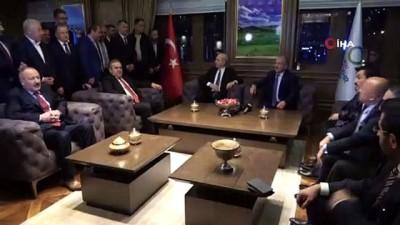 AK Parti Genel Başkanvekili Numan Kurtulmuş'tan Ordu Büyükşehir Belediyesi'ne ziyaret