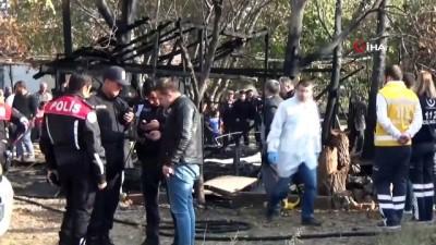 Yangında hayatını kaybeden minik Ömer toprağa verildi