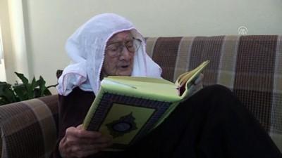 genc ogretmen - 105 yaşındaki Mukime öğretmenin öğrencilerine olan özlemi tükenmiyor - AMASYA