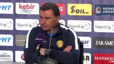 """Mustafa Kaplan: """"İkinci yarının başında peş peşe iki gol yememiz maçtan kopmamıza neden oldu"""""""