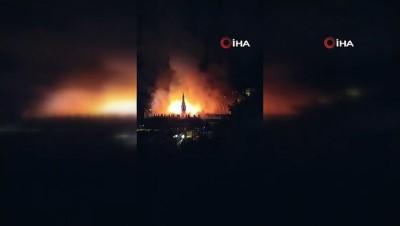 Datça'da dört yıldızlı otelde yangın çıktı