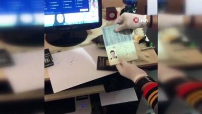 kimlik karti -  Fatih'te sahte evrak operasyonu: 2 gözaltı