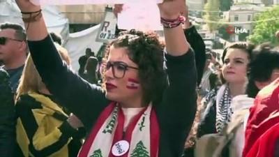 - Hizbullahçı gruplarla protestocular karşı karşıya - Lübnan'da hükümet karşıtı protestolar devam ediyor