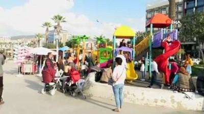 Ülkenin doğusu kışa teslim olurken Aydın'da yazda kalma günler yaşanıyor