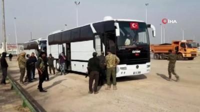 52 aile daha Tel Abyad'a dönüş yaptı