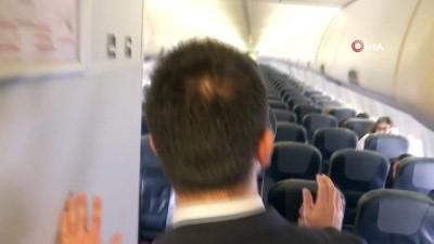 Uçağa bomba koydular, hostesi rehin aldılar...Özel harekat polislerinden uçakta nefes kesen rehine kurtarma tatbikatı