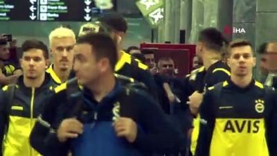 Fenerbahçe, İzmir'e geldi