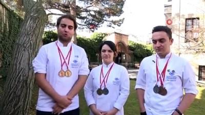 Kapadokya'nın genç şefleri GastroAntalya'dan madalyalarla döndü