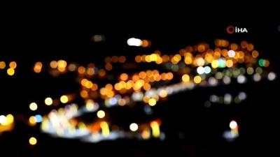 Tunceli'de geceleri bir başka güzel