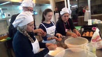 Lüleburgaz'ın yabancı 'Master Chef'leri