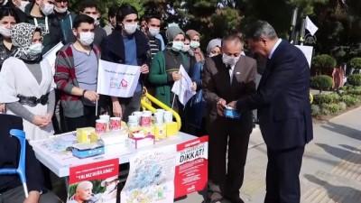 Burdur'da lösemi hastalarına destek - BURDUR