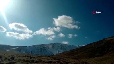 Iğdır'ın yüksek kesimleri kar ile kaplandı