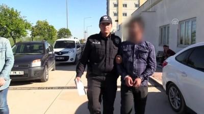 Adana'da banka camını çekiçle kıran şüpheli serbest bırakıldı - ADANA
