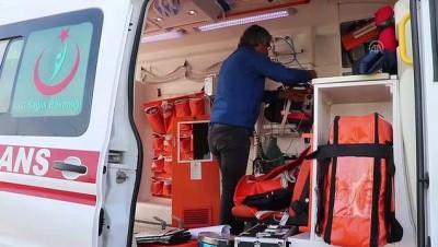 Ambulans ile otomobil çarpıştı: 7 yaralı - ELAZIĞ