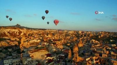 Kapadokya 2020 yılında 7 milyon turiste ulaşmak istiyor