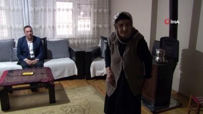 107 yaşındaki Emine nine uzun yaşamanın formülünü açıkladı