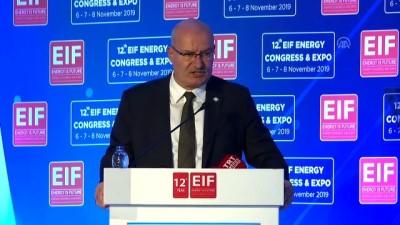 12. Uluslararası Enerji Kongresi ve Fuarı - ATO Başkanı Baran - ANKARA