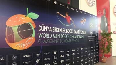 Dünya Erkekler Bocce Volo Şampiyonası başladı - MERSİN
