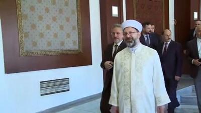 Erbaş: 'İslam dünyasında artık birlikte kutlanıyor' - ANKARA