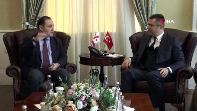 Gürcistan Büyükelçisi George Janjgava Erzurum'da