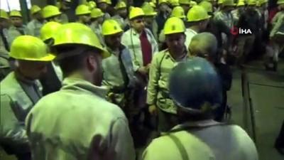 Maden işçisine risk tazminatı