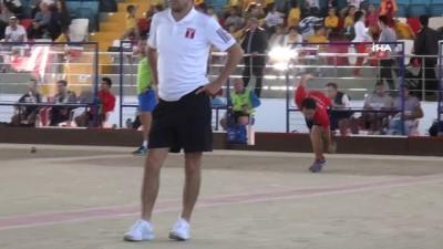 Mersin'de Dünya Erkekler Bocce Şampiyonası başladı
