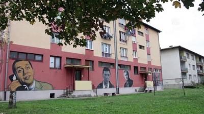Selin harap ettiği şehri duvar resimleriyle süsledi - DOBOJ