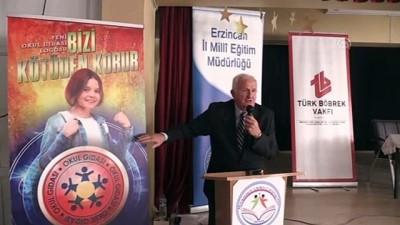 Türk Böbrek Vakfı Başkanı Erk: 'Obez hastalarının yarısından fazlası çocuk' - ERZİNCAN