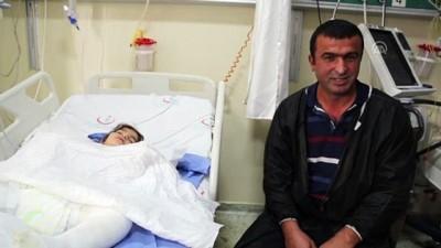 Ekmek tandırına düşen küçük Fatma Nur yanarak yaralandı - ERZURUM