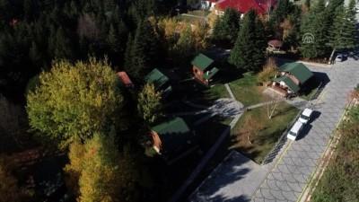 teleferik - 'Uludağ'ın köşkleri'nde kış dinlencesine yoğun ilgi - BURSA