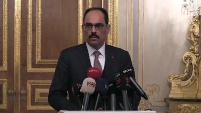 guvenli bolge - Cumhurbaşkanlığı Sözcüsü Kalın, dörtlü zirveye ilişkin bilgi verdi (2) - İSTANBUL