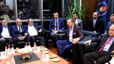 Hisarcıklıoğlu: 'Piyasa dönmeye başladı ve gelecekten umutluyuz' - TEKİRDAĞ