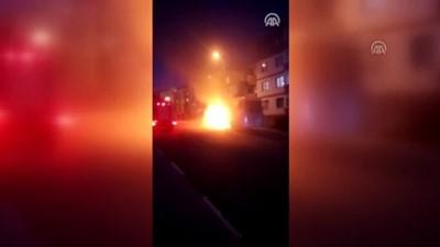 Seyir halindeki otobüste yangın çıktı - KARABÜK