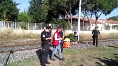 Trenin çarptığı kişi öldü - MANİSA