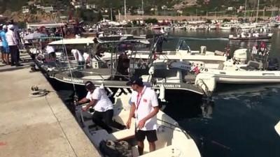 Alanya'da olta balıkçılığı turnuvası başladı - ANTALYA