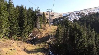 Çambaşı Yaylası'ndaki kayak merkezi sezona hazırlanıyor - ORDU