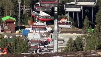 Cıbıltepe Kayak Merkezi'nin modern telesiyeji sezona hazır - KARS