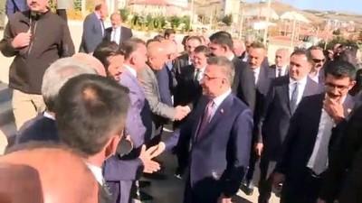 Cumhurbaşkanı Yardımcısı Oktay ile Bakan Kurum Yozgat Valiliğini ziyaret etti - YOZGAT