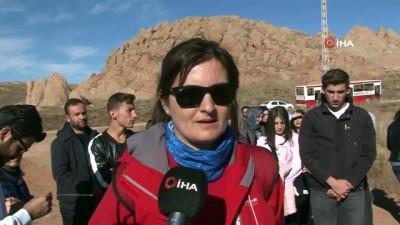 'Dünya'daki Mars'a bilimsel gezi