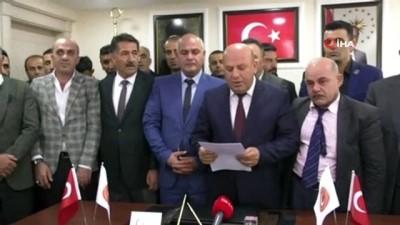 Hakkari'de ilk defa federasyon kuruldu..'Doğu Anadolu Bölgesi Gaziler ve Şehit Aileleri Federasyonu'