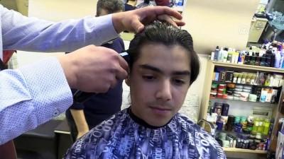 Liseli gencin uzattığı saçlar lösemili bir çocuğa peruk olacak - ÇORUM