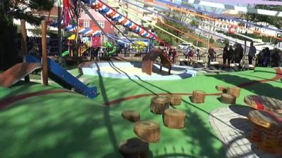 Sultanbeyli'de 0-3 yaş arası miniklere özel park