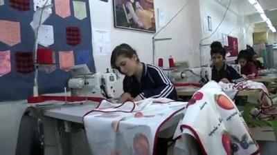 Tekstil atölyesi gibi lise - MARDİN
