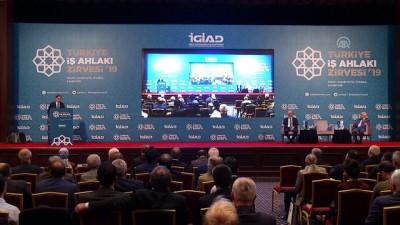 'Türkiye İş Ahlakı Zirvesi 2019' - Kamu Başdenetçisi Malkoç - İSTANBUL