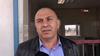 Sivas'ta bulunan hasta bozkurt ERÜ'de tedavi altına alındı