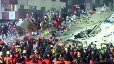 """Çöken bina davasında mağdurlar ve tanıklar dinlendi: """"Zemin yukarıya doğru sıçradı"""""""